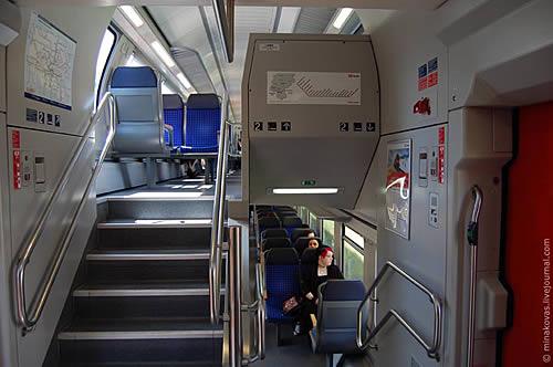 двухэтажный вагон вид изнутри действительности хочу